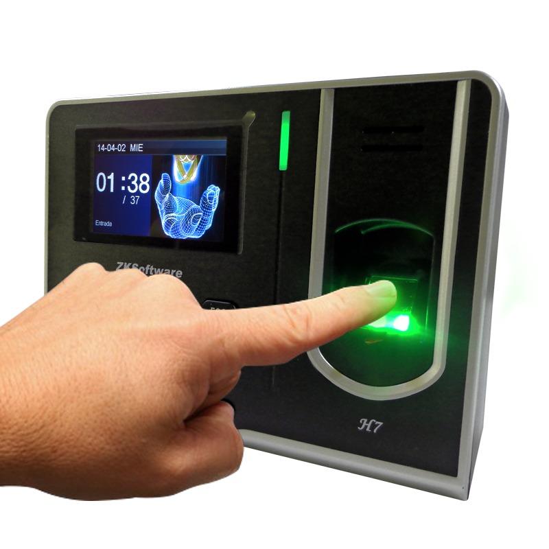 Reloj Checador Huella Digital Empleados Asistencia Usb